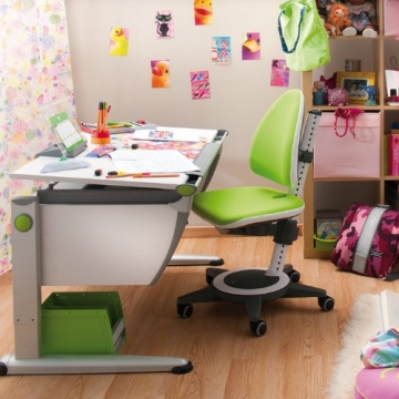 Champion Kids Maximo Adjustable Desk Chair In Green